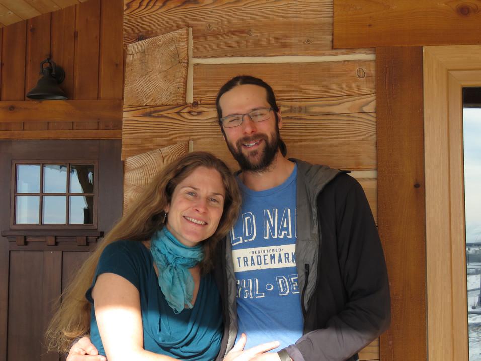 Katie Housak and Dave Peters