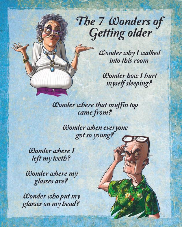 Wonders Of Getting Older