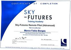 Certificado PIloto SKY Futures Marco
