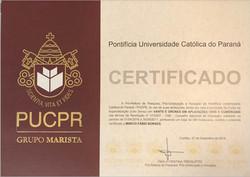 Certificado Marco PUCPR