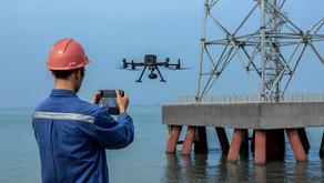 Avaliação de risco operacional com utilização de drones.
