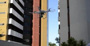 Inspeção de Fachadas com Drone