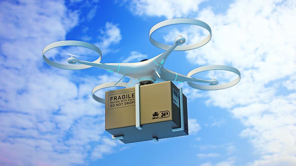 no Brasil em agosto de 2020 a ANAC emitiu à Speedbird o Certificado de Autorização de Voo Experimental (CAVE) para que a empresa inicie entrega de produtos utilizando aeronaves não tripuladas, os Drones