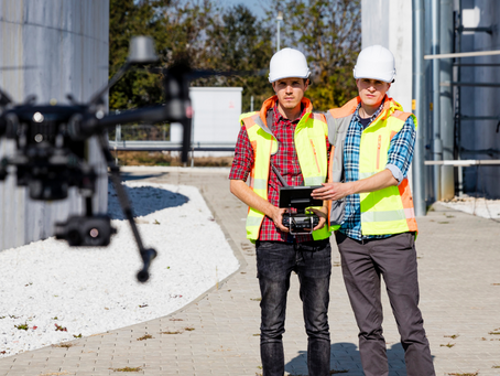 Uso de drones na Indústria