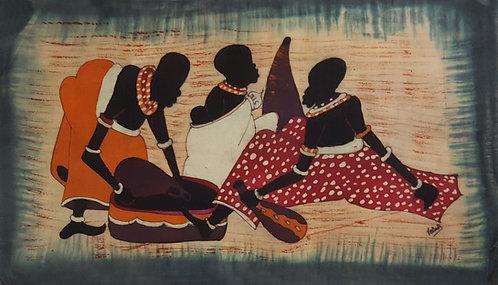Batiks - Family by Petak