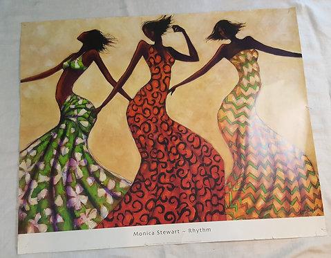 Rhythm By Monica Steward