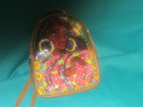 Hand Painted Backpack - Queen