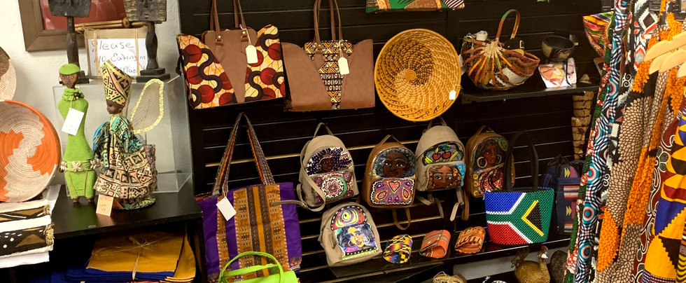 Africentric handbags and purses from Ghana