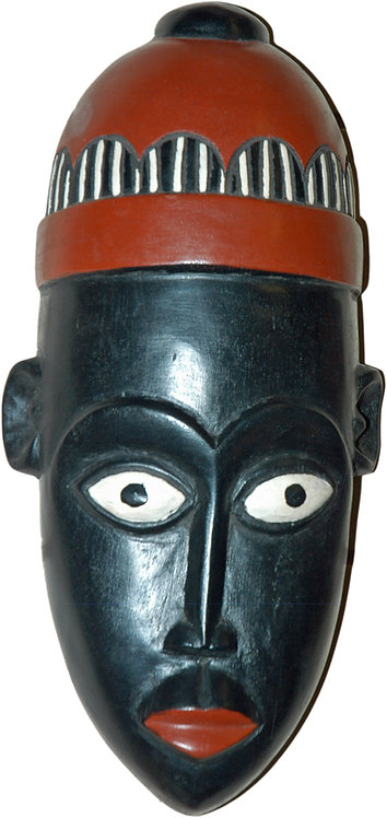 Black Tribal Mask
