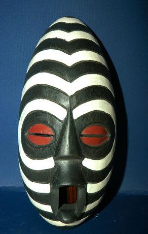 Togo Zebra Mask