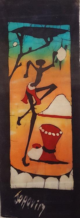 Batiks - Man Dance by Joaquin