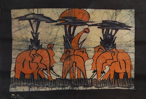 Batiks - Elephants by Motove