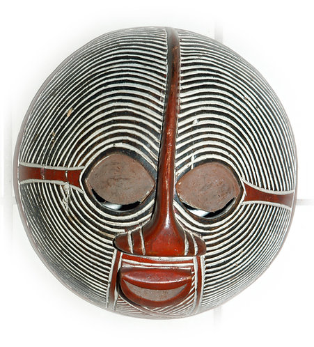 Tribal hand carved Mask