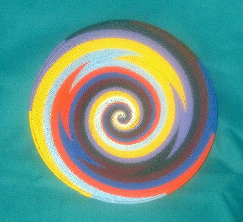 Zulu Telephone wire Bowls - Multi- color (orange, blue,yellow, purple)