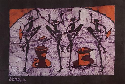 Batiks - Purple moon by Joaquin