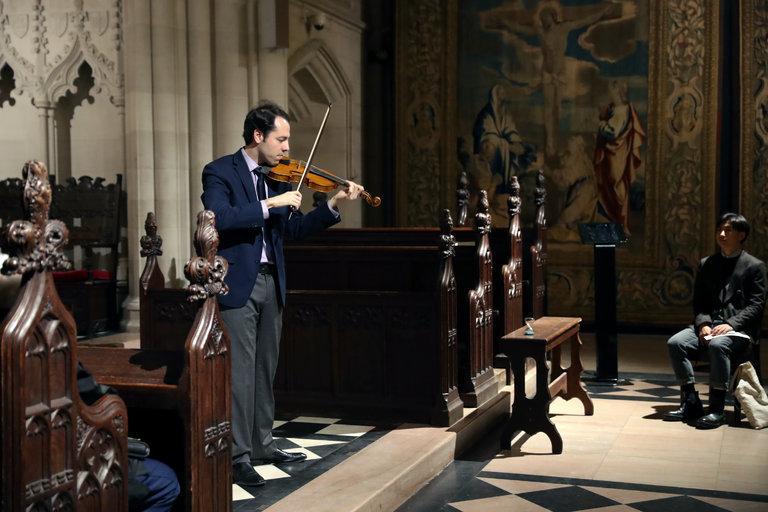 Edson Scheid, violinist