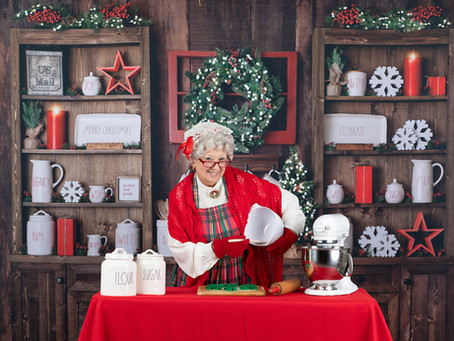 Baking with Mrs. Claus