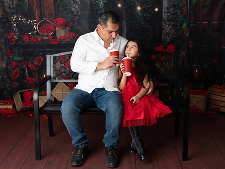 Daddy/Daughter Valentine Sessions