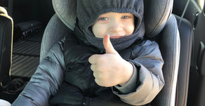 Winter Safety & Car Seats - a helpful guide to winter attire that passes the (pinch) test