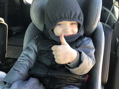 Winter Safety & Car Seats: a guide to winter attire that passes the (pinch) test