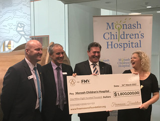$1.8M Grant to Monash Children's Hospital