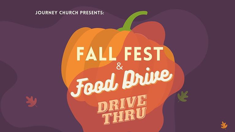 Fall Fest & Food Drive Thru