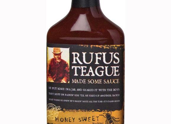 Rufus Teage Honey Sweet BBQ Sauce 16oz