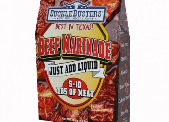 SuckleBusters Beef Marinade - 4oz