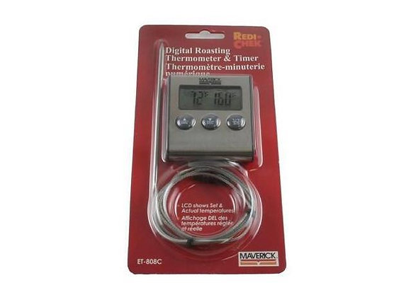 Maverick ET-808C Digital Roasting Thermometer and Timer