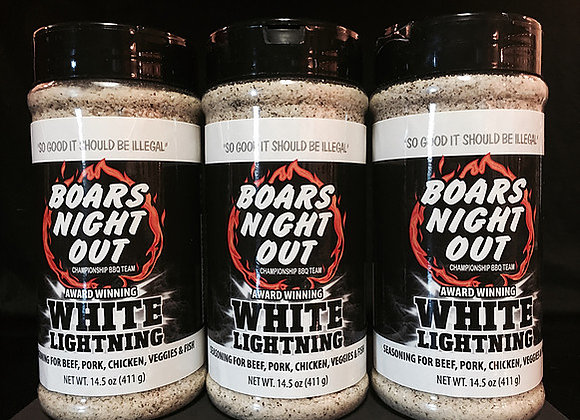 Boars Night Out White Lighting