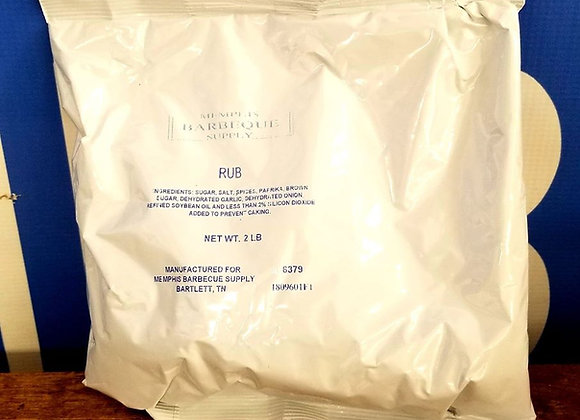 Memphis Barbeque Supply Shotwell Rub 2lb