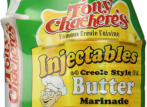 Tony Chachere's Creole Butter 17 oz. Injectable Marinade