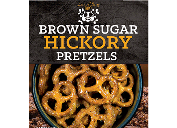 Brown Sugar Hickory Pretzels