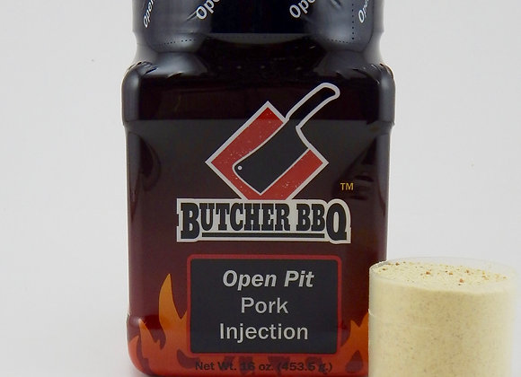 Butcher Open Pit Pork Injection