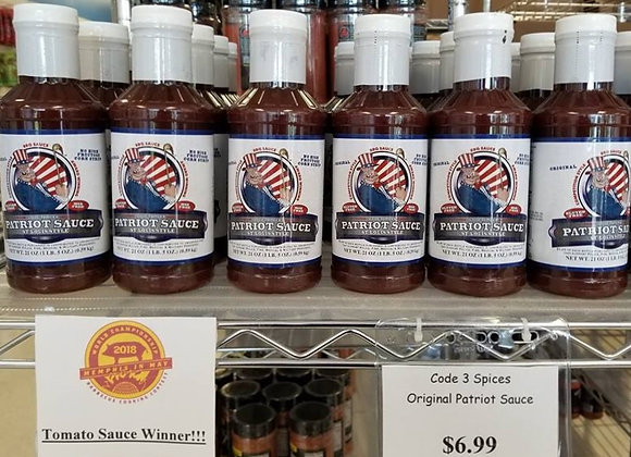 Code 3 Spices Patriot Sauce