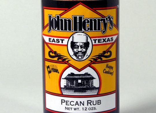 John Henry's Pecan Rub 12oz