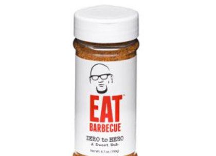 EAT Barbecue Zero to Hero Sweet Rub  6.7oz