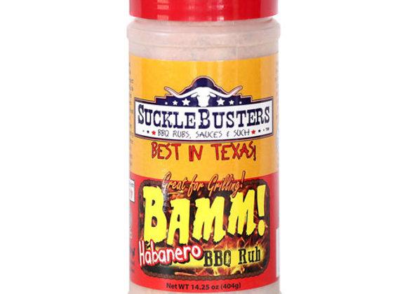 Suckle Busters Bamm Habanero Rub 14.5oz