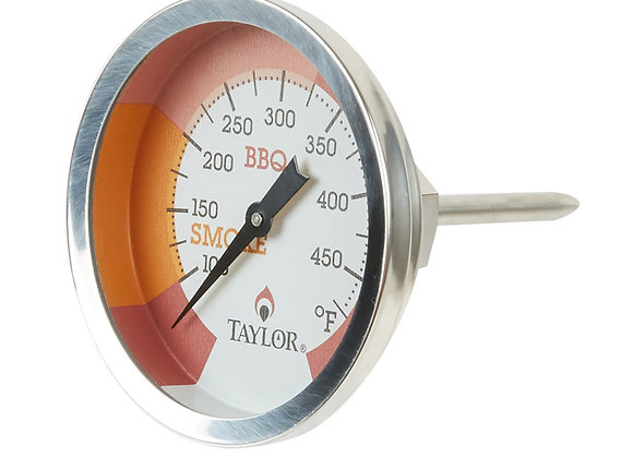 "2 3/4"" Dial Grill / Smoker Thermometer with 1 7/8"" Stem"