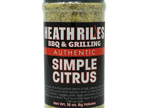 Heath Riles Simple Citrus Rub
