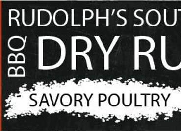 Rudolph's Southern BBQ Savory Poultry Rub