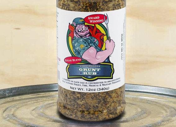 Code 3 Spices Grunt Rub 12oz