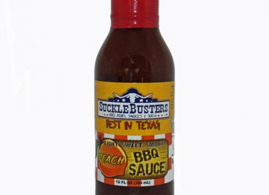 Suckle Busters Peach BBQ Sauce 12oz