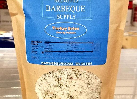 Memphis Barbeque Supply Turkey Brine 16oz
