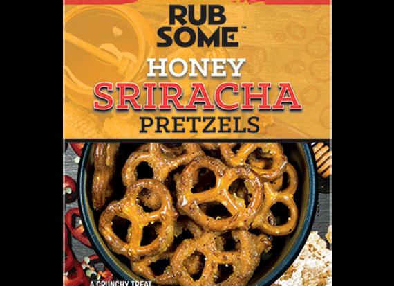 Honey Sriracha Pretzels