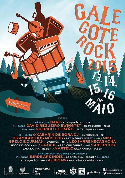 PONTEVEDRA > 16 MAIO - 18h00 Festival GalegoteROCK