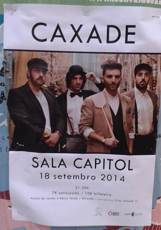 COMPOSTELA, SALA CAPITOL: 18/9/14