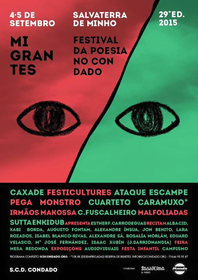 SALVATERRA DE MINHO > 5 SETEMBRO FESTIVAL DA POESIA
