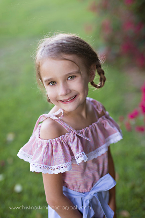 Kaitlynn is the newest pattern from Violette Field Threads (Child fashion photography in Orange Coun