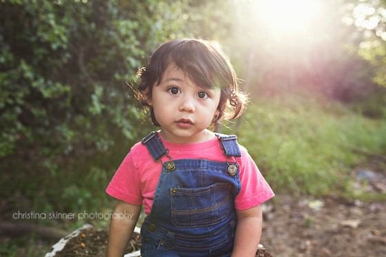Lennon's 2nd Birthday Toddler Photo Session {North Orange County Child Photography}